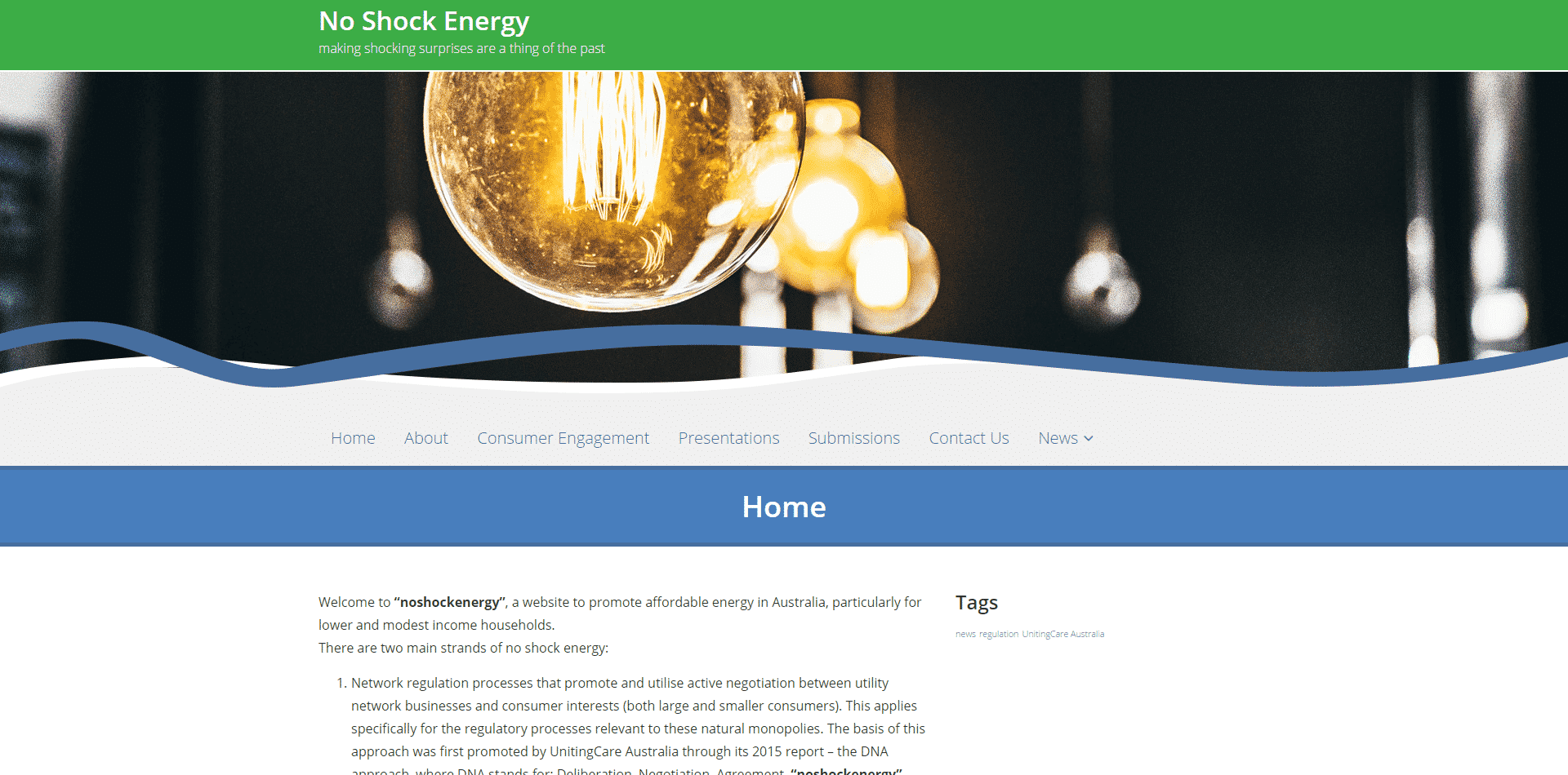 Read more about the article No Shock Energy