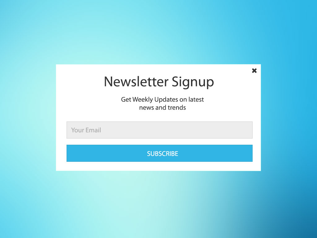 Create a cookie based Newsletter Sign-Up with jQuery and Gravity Forms